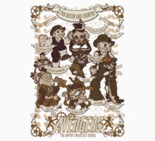 Lil steampunk Avengers Kids Clothes