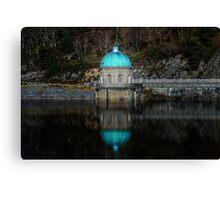 Rhayader Dam - Elan Valley Wales Canvas Print