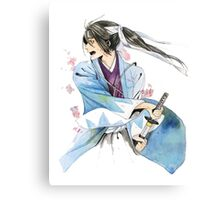 WAR IN BLOSSOMS Canvas Print
