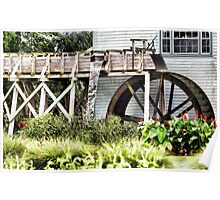 Amish Watermill Poster