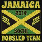 Vintage 2014 Jamaican Bobsled Team Sochi Olympics T Shirt by xdurango