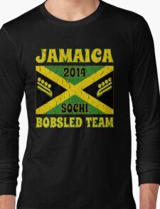 Vintage 2014 Jamaican Bobsled Team Sochi Olympics T Shirt Long Sleeve T-Shirt