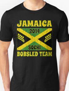Vintage 2014 Jamaican Bobsled Team Sochi Olympics T Shirt T-Shirt