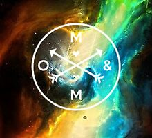 Of Mice and Men Galaxy Logo by Falling