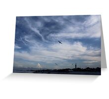 Sky in Amelia Island, FL Greeting Card