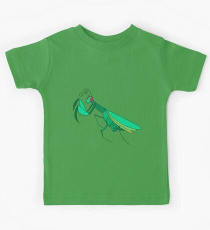 Cute Praying Mantis Kids Tee