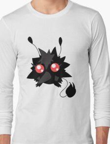Fluffy Red-eyed Monster Long Sleeve T-Shirt