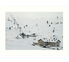 More than 2000 meter high Art Print