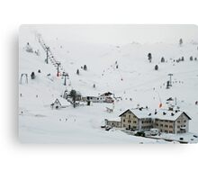 More than 2000 meter high Canvas Print