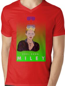Cool Down - Miley Mens V-Neck T-Shirt