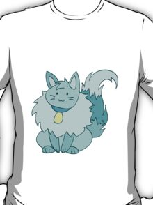 Fluffy Ice Kitty T-Shirt