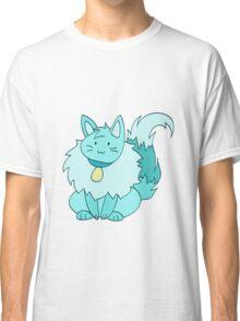 Fluffy Ice Kitty Classic T-Shirt