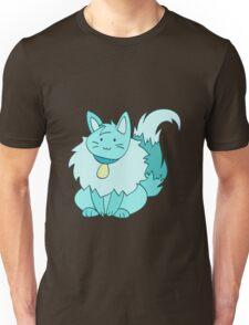Fluffy Ice Kitty Unisex T-Shirt
