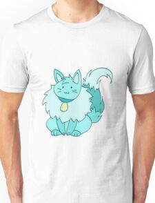 Fluffy Ice Kitty Unisex T-Shirt