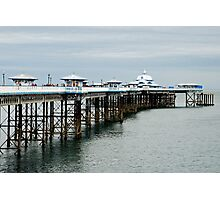 The pier of Llandudno - Wales Photographic Print