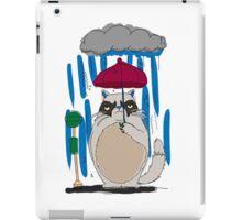my neighbor grumpy cat iPad Case/Skin