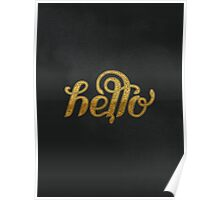 You had me at hello Poster