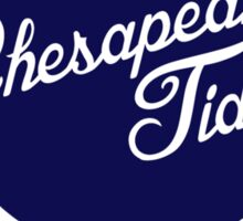 Chesapeake Tides logo  Sticker