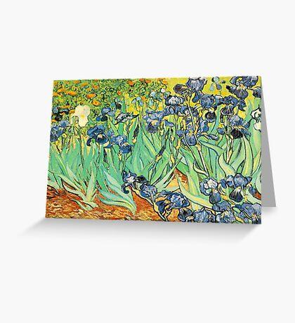 Vincent Van Gogh - Irises Greeting Card