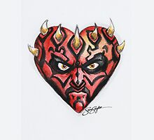 Darth Maul Star Wars Hearts by samskyler