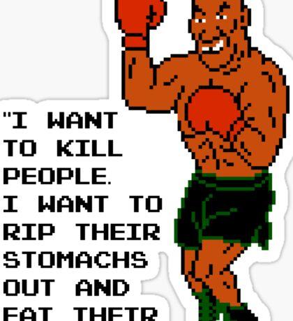 Tyson Quote #1 Sticker