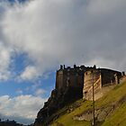 Edinburgh Castle, south side by Pete Johnston