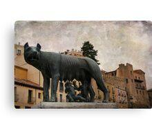 Segovia to Rome Canvas Print