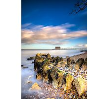 Bembridge Beach Photographic Print