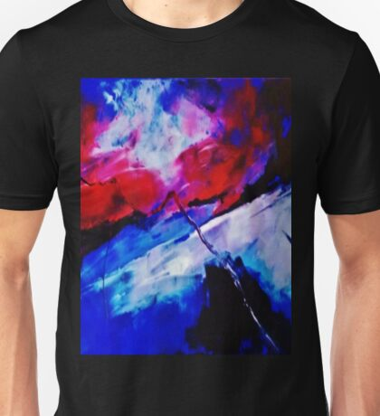 ABSTRACT SUSET 2 Unisex T-Shirt