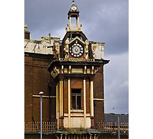 Plymouth Grove Clock Tower Photographic Print