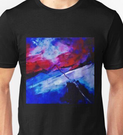 ABSTRACT SUNSET 2 Unisex T-Shirt