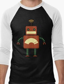 Robo-bro Men's Baseball ¾ T-Shirt
