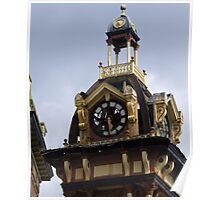 Plymouth Grove Clock Tower 2 Poster