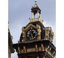 Plymouth Grove Clock Tower 2 Photographic Print