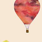 Sunset Balloon  by Kanika Mathur