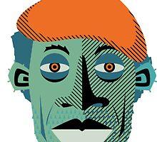 Gill Scott Heron by Ciarán Ward