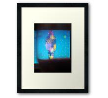 Life on Screen Framed Print