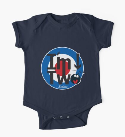 I'm Two, that's who! One Piece - Short Sleeve