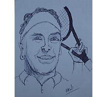 Tennis Pro Photographic Print