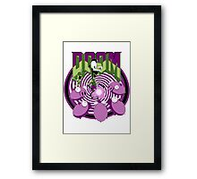 Invader Doom Framed Print