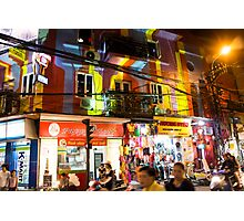 hanoi by night Photographic Print