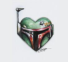 Boba Fett Star Wars Heart by samskyler