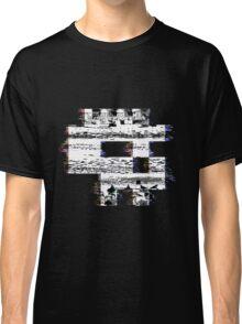 Glitch Skull Classic T-Shirt