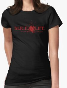 Slice of Life Womens Fitted T-Shirt