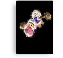 Abstract Ice Climber Epic Duo Canvas Print