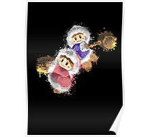 Abstract Ice Climber Epic Duo Poster