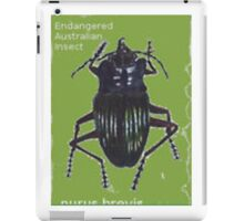 Endangered Insect iPad Case/Skin