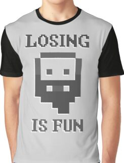 Dwarf Fortress - Losing is Fun! Graphic T-Shirt