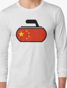 China Curling Long Sleeve T-Shirt