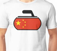 China Curling Unisex T-Shirt